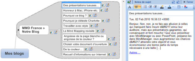 Blog - RSS - MindManager